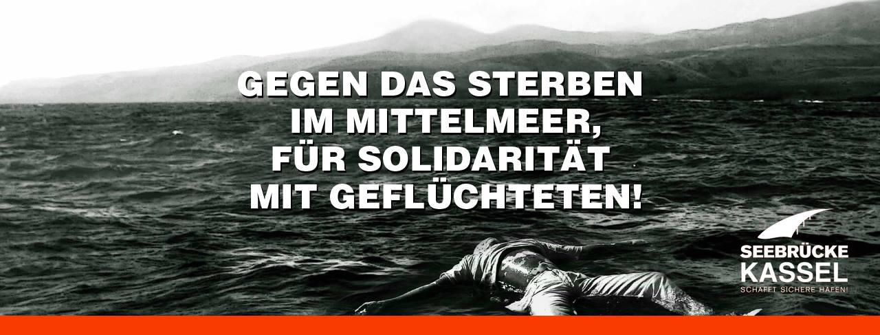 Demo am Fr. 27.07 – Gegen das Sterben im Mittelmeer