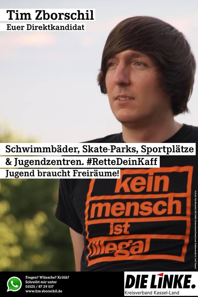 Tim Zborschil: Jugend braucht Freiräume