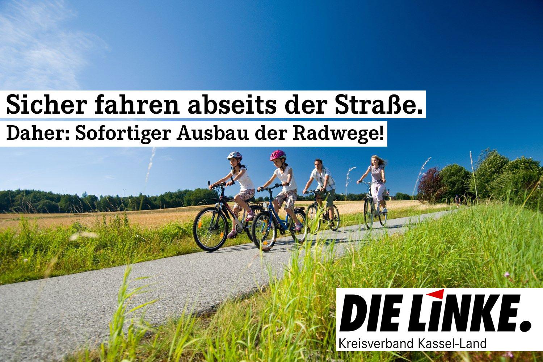 Ausbau von Radwegen und Förderung zum Kauf von Fahrrädern