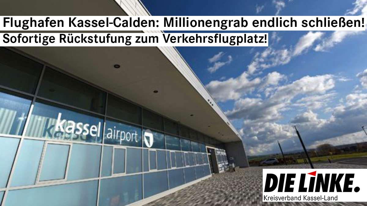 Defizite des Flughafens Kassel-Calden bringen Gemeinden in Not – Land soll Anteile von Calden übernehmen