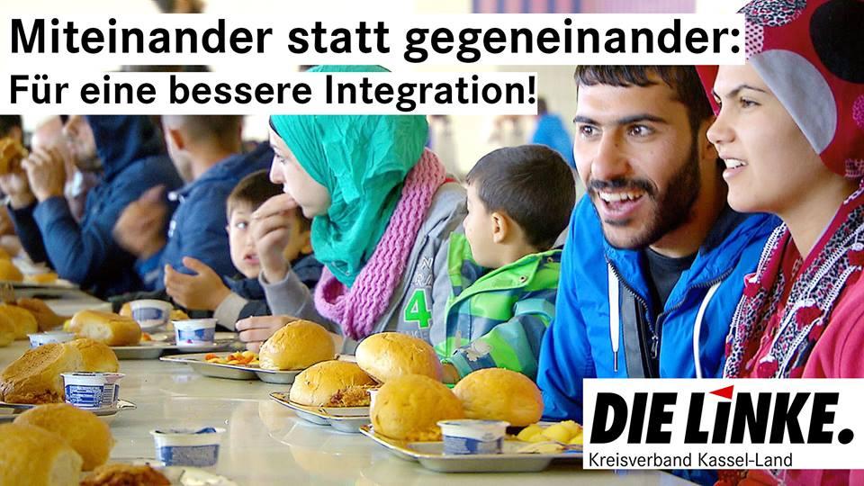 Integration ist keine Einbahnstraße! Für eine Gesellschaft in der es egal ist, ob Du Paul oder Abdullah heißt.