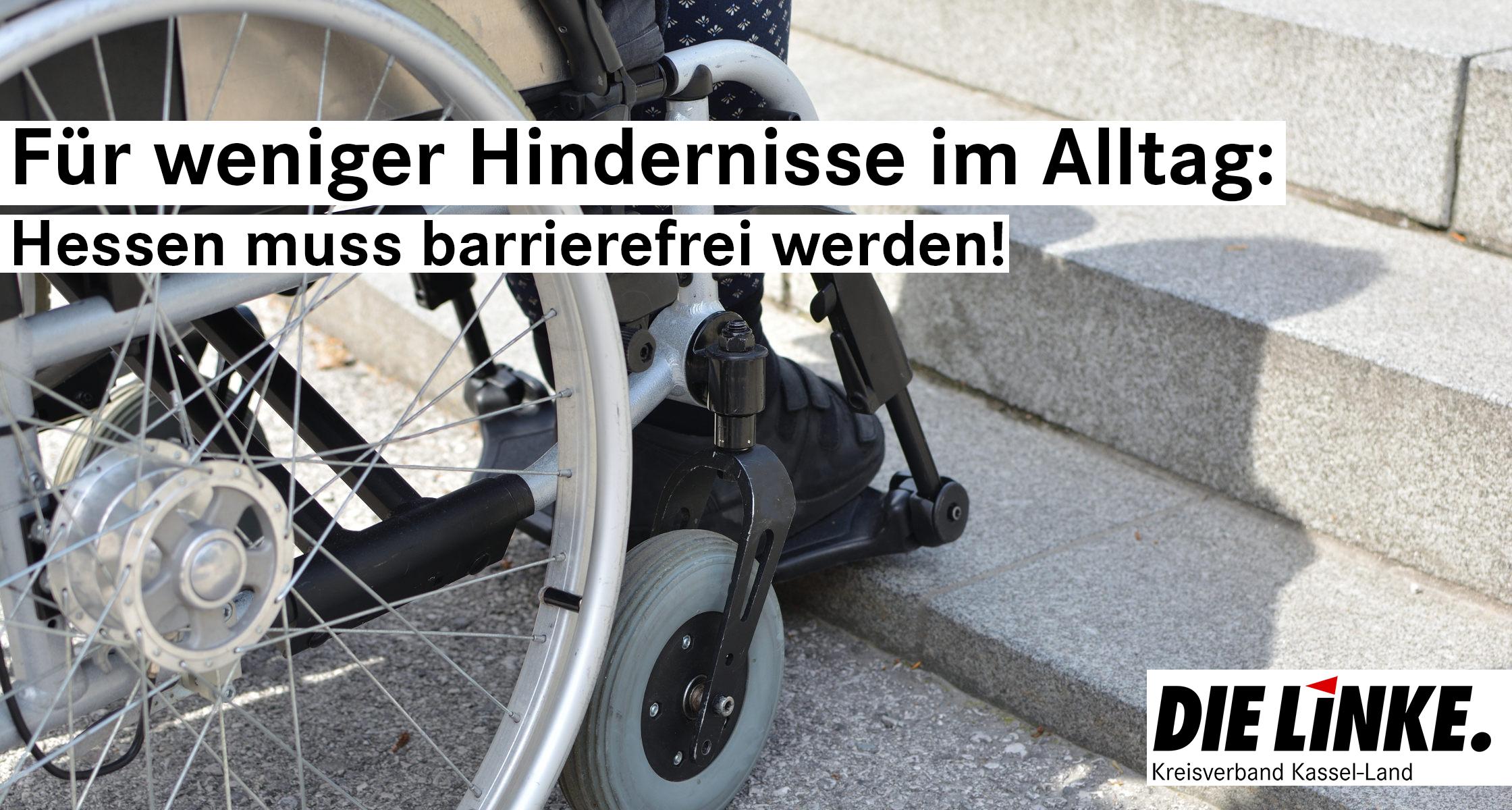 """""""Hessen muss barrierefrei werden!"""""""