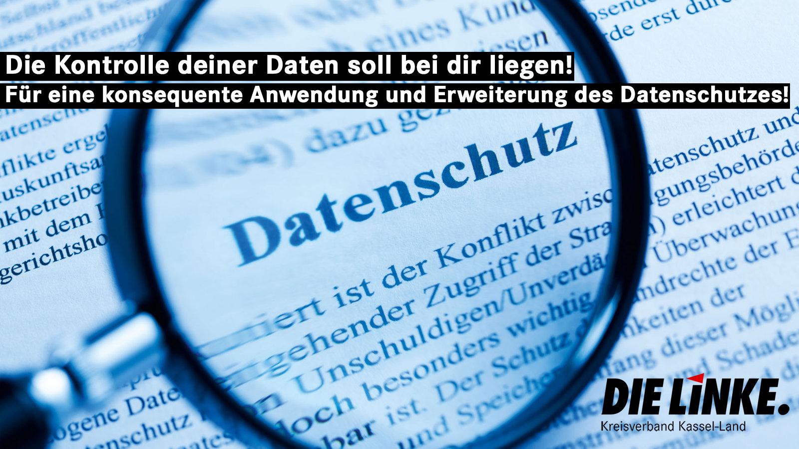 Für einen Datenschutz im Sinne der Bürger*innen