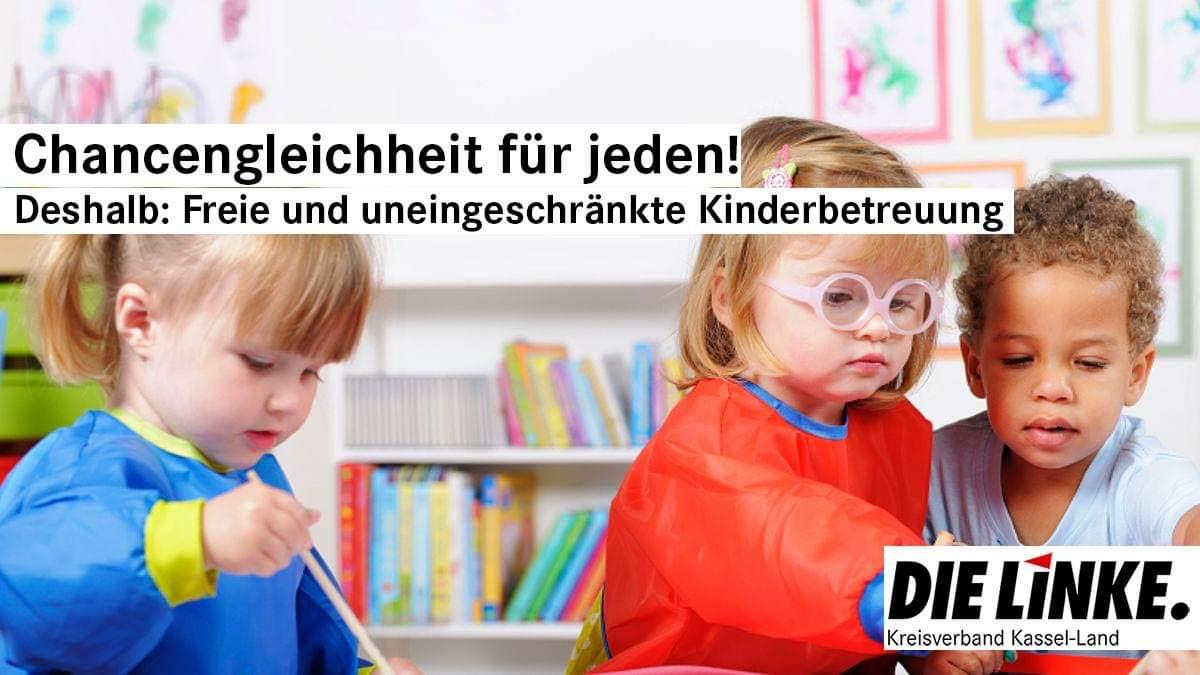 Die Betreuung unserer Kinder ausbauen und verbessern!