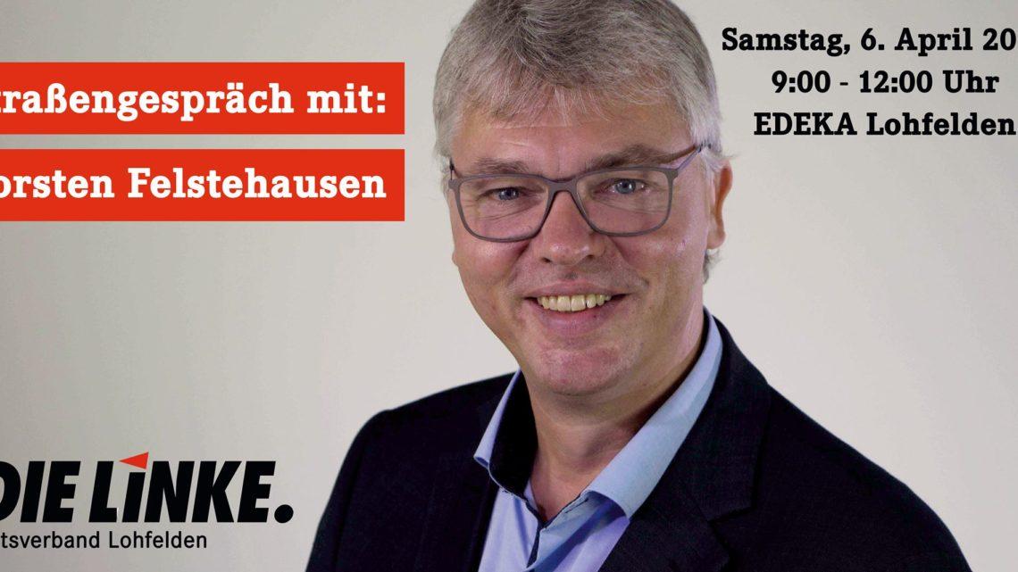 Straßengespräch mit Torsten Felstehausen